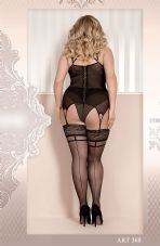 Ballerina 368 Hold Ups Nero (Black)
